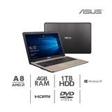 Laptop Asus 15.6 A8-7410 2.2ghz,4gb, 1tb Windows 10 Nuevo.