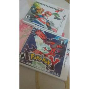 2 Jogos Mario Kart 7 + Pokemon Y 3ds (leia Descricao)