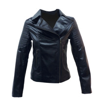Campera Cuero Vaca Mujer Mod Motogiselle Dash Leathers