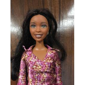 Barbie Negra Antiga