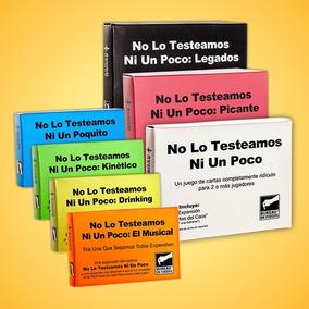 No Lo Testeamos Ni Un Poco + 6 Expansiones + Cartas Extra!!!