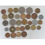 M 797 Lote De 31 Monedas Del Mundo