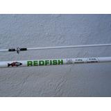Combo Redfish - Caña De Pesca 2 Tramos 2.40 Mts + Reel Sl500