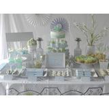 Candy Bar + Torta + Cupcakes + Ambientación Mesa Temática