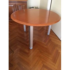 Mesa Redonda Chica Usada - Muebles para Oficinas, Usado en Mercado ...