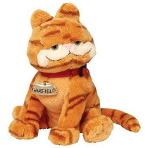 Juguete Ty Beanie Bebé - El Gato Garfield (garfield Películ