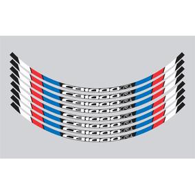 Logotipo E Friso Refletivo Para Roda Moto Honda Cb-1000r