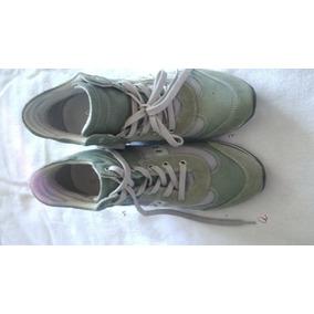 Botas Zapatos Geox Para Dama Con Tacon Interno Talla39