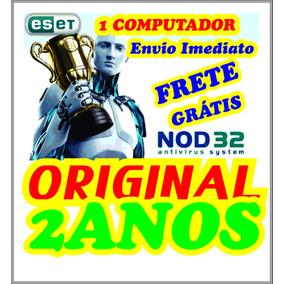 Antivírus Eset Nod32 10 1pc 2anos - Português® Envio Grátis