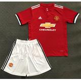 Camisa Manchester Vermelho Com Short
