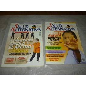 Revistas Salud Alternativa,herbolaria,relax,masaje