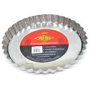 Tartera Molde Frola Rizada Desmontable N 26 Aluminio Real