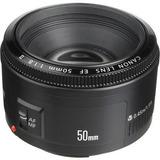 Lente Canon 50mm 1.8 Ll , Nuevo! En Caja Cerrada