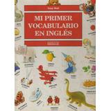 Mi Primer Vocabulario En Inglés Tony Wolf Pasta Dura