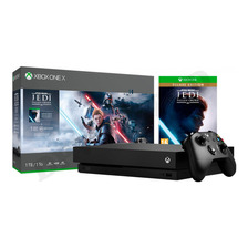 Xbox One X 1tb Star Wars Jedi Fallen Order + 1 Mes Gold Live