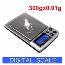 Bascula Digital 300 G Capacidad 0.01 G Presicion