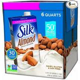 Leche De Almendras Silk Sin Azúcar Sabor Vainilla 30 Cal