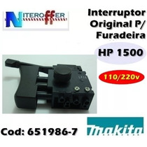 Interruptor Original P/furadeira Hp1500 110/220v Makita