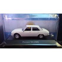 Peugeot 504 (1969) Con Fasciculo Coleccion Auto Escala 1/43