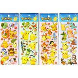 20 Planchas De Stickers Pokemon Bob Esponja