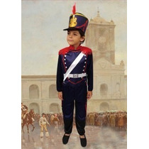 Disfraz Patrio Granadero Talle: 1 Disfraces Candela 45955