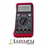 Multímetro Digital Tester Multi Funcional Tm-135