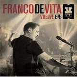 De Vita Franco Vuelve En Primera Fila Cd X 2 + Dvd Nuevo