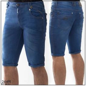 Bermuda Jeans Masculina Pit Bull