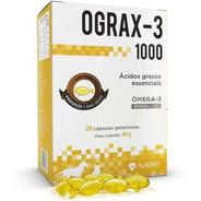 Suplemento Cães Gatos Avert Ograx-3 1000 30 Cápsulas