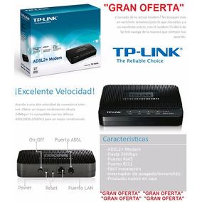 Modem Adsl2+ Tp-link Td-8616 Aba Internet Cantv Rj45 -oferta