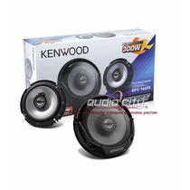 Juego De Bocinas C/tweeter Kenwood Kfc-1665s 300 Watts 2vías