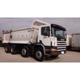 Caminhão Scania 124 Basculante Quarto Eixos