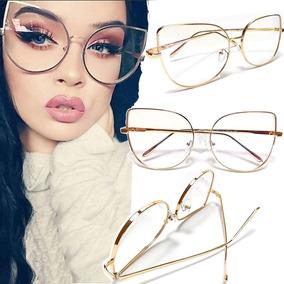 Armacao Oculo Tiffany 2120 - Óculos Dourado no Mercado Livre Brasil 5d47c94404