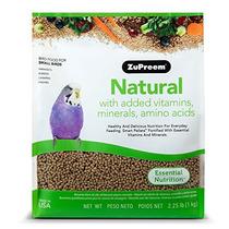 Zupreem Natural Con Adición De Vitaminas, Minerales, Aminoá
