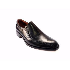 Zapatos Mocasines De Vestir Tipo Italiano En Cuero
