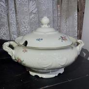 Sopeira Porcelana Kpm Polond Antiga Ouro