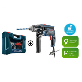 Taladro Percutor Gsb 13 Re 650w + Set Gigante 91 Pz Bosch