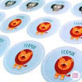 Etiquetas Stickers Personalizadas Para Golosinas Candy Bar