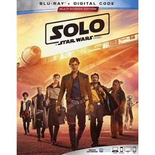 Solo A Star Wars Story Blu-ray Nuevo Original Imp