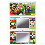 Mario Party Game Skin Para Nintendo Ds Lite Console