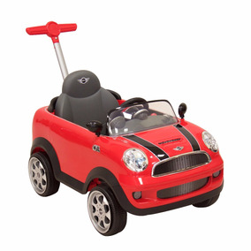 Montable Pushcar Minicooper Rojo