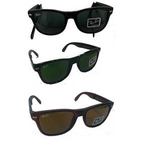 49e79e4acc49e Oculos Ray Ban Dobravel Wayfarer - Óculos De Sol no Mercado Livre Brasil