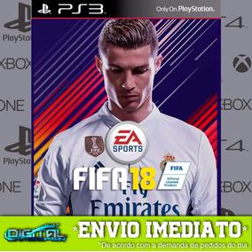 Fifa 18 Ps3 Fifa 2018 Narração Ptbr Envio Imediato Digital !