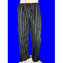 Pantalon Jamaiquino Negro Y Gris/blanco Varios Talles