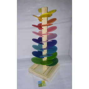 Árbol Musical -arcoiris- Waldorf- Montessori- Guga Juguetes