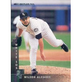 Barajita De Beisbol Venezolano Wilson Alvarez Donruss 1997