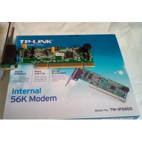 Tarjeta Tp-link Pci Fax Módem 56k Internal Tm-ip5600