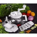 Picador Cortador Legumes Triturador Manual Alho Cebola
