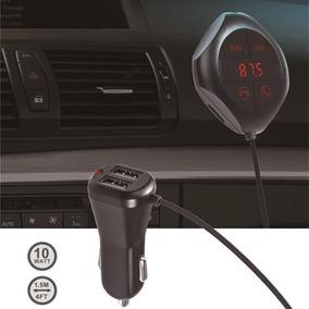 Transmissor Fm Com Receptor Bluetooth Aux Usb !!promoção!!
