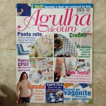 Revista De Ouro N96 Julho 2004 Ponto Reto Enxoval Vagonite